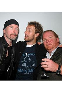 The Edge, Chris Martin, Mario Batali
