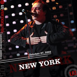 U2 New York Vertigo Bootleg