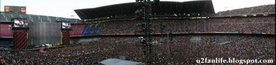 U2 Vertigo Tour Barcelona Panoramica