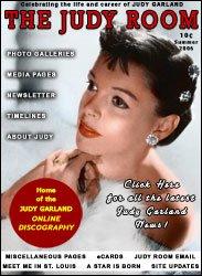 Judy Room Magazine Cover