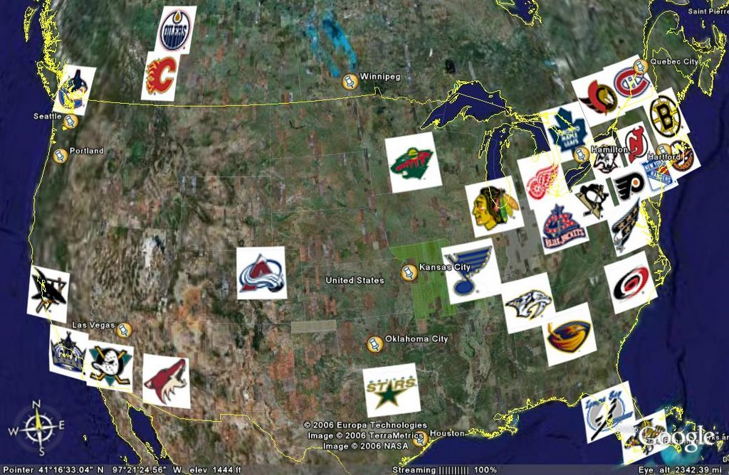 james mirtle  A map of the NHL   A hockey journalist s blog