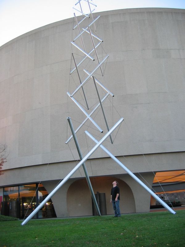 Ropes And Poles Step By Step Tensegrity Tower Part 1