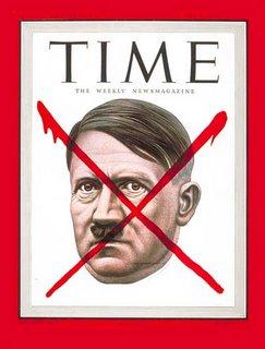 Portada de la revista Time con la imagen de Adolf Hitler