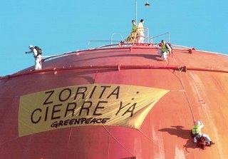 Todav�a no me explico cómo Greenpeace pudo llegar hasta ah�