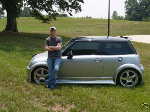 NASCAR on Ebay ~ Dale Jr 's Mini Cooper | The Church of the Great Oval