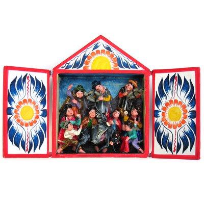 Yawar Fiesta diorama