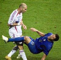 Zidane and Materazzi