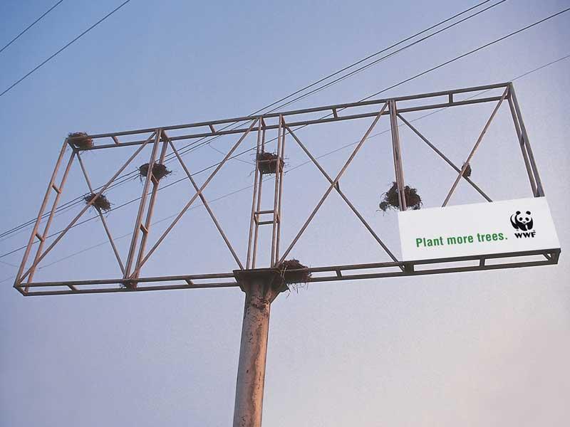 wwf - signboard