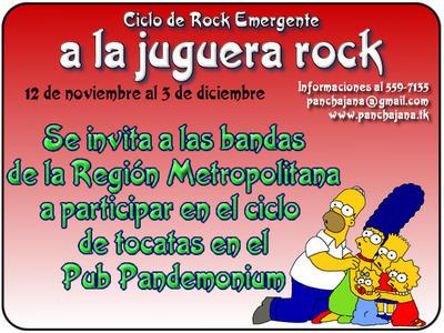 A la Juguera Rock