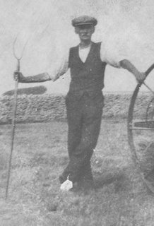 Charles Herbert Gregory with Pitchfork