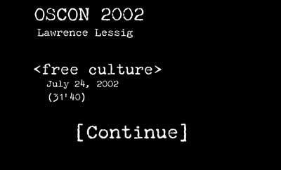 Free Culture Presentation