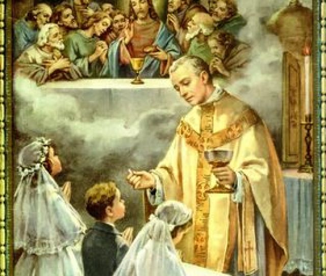 First Penance And First Holy Communion