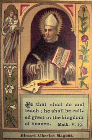 A Catholic Life St Albert The Great