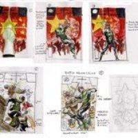Los diseños de las portadas de 52 por Jg Jones