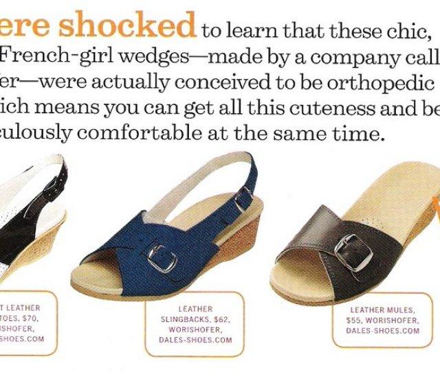 How Worishofer German Orthopedic Sandals Bee Chic