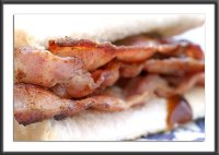 A bacon sarnie