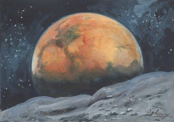 Space Artists: The Space Art of Detlev van Ravenswaay