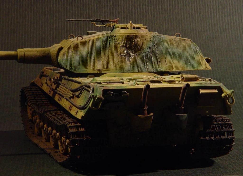 裝甲製作所 Sprocket Club: 1/35 King Tiger Porsche-Turm Part1