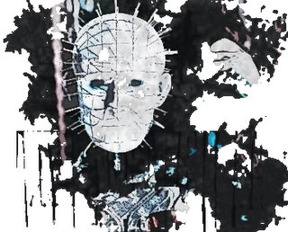 Pinhead from Hellraiser belongs to Clive Barker, not me.