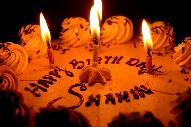 Happy Birth Day Name Cake