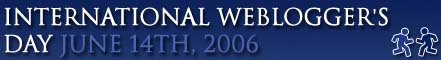 III Annual International Webloggers Day