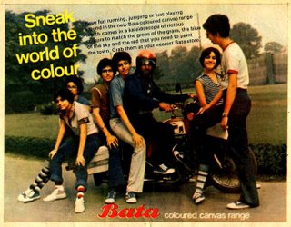 Bata Coloured Canvas