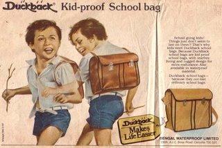 Duckback Kid-proof School bag