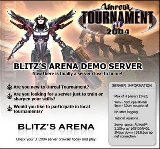 Blitz's Arena UT2004 Server