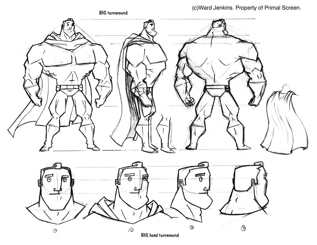 Big Superhero Poses