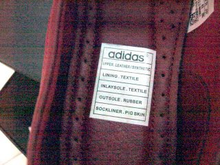 Pig Skin in Adidas Shoe??? (3/4)