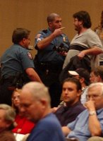 protests, insults disrupt Kristol 9/11 speech
