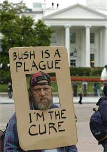 'drive out the bush regime'