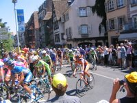 Le Tour de France, Stage 1 Strasbourg, July 2005