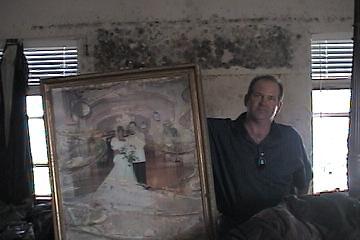 Wedding portrait remnant