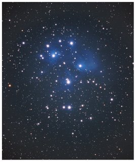 A Cluster of Pleades - Bintang Banyak