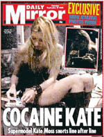 Kate Moss, a.k.a. Cocaine Kate
