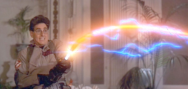 Egon cuts loose.