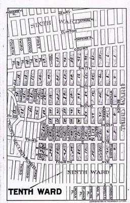 Map of Brooklyn's Tenth Ward, 1893