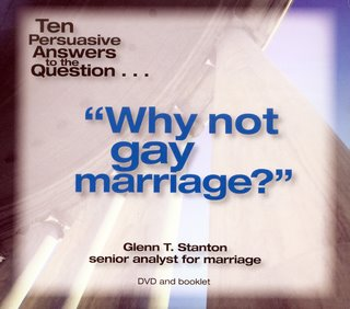 Why Not Gay Marriage?