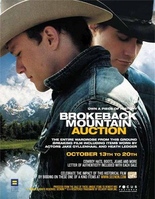 Brokeback Mountain Auction