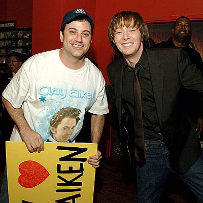 Jimmy Kimmel & Clay Aiken