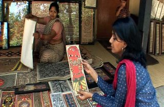 Nandita Das at Delhi's Craft Museum