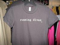 running diva shirt...not the one i got though
