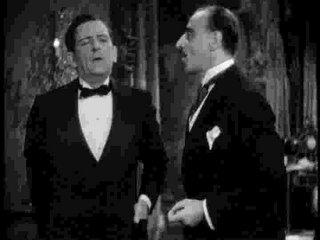 Edward Everett Horton, otro mariquita profesional, aquí en una de las mejores comedias de la historia en el cine, Un ladrón en la alcoba, de Lubitsch