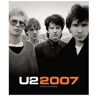 U2 2007 Calendar