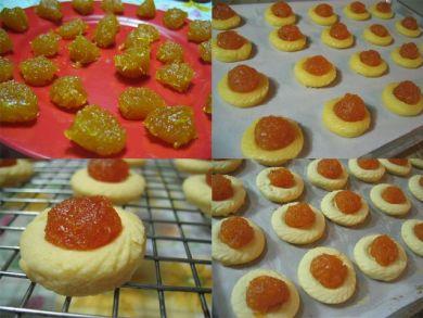 Baking pineapple tarts