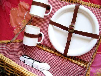 picnic basket interior