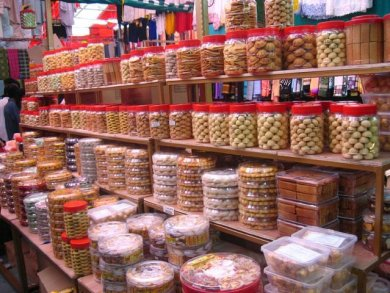 Endless jars of cookies