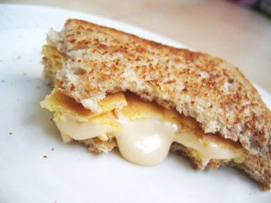 Oozing cheese