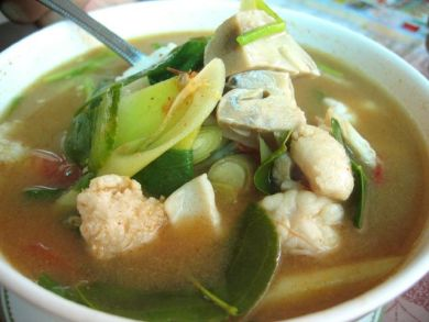 Tom Yum Soup in Phuket